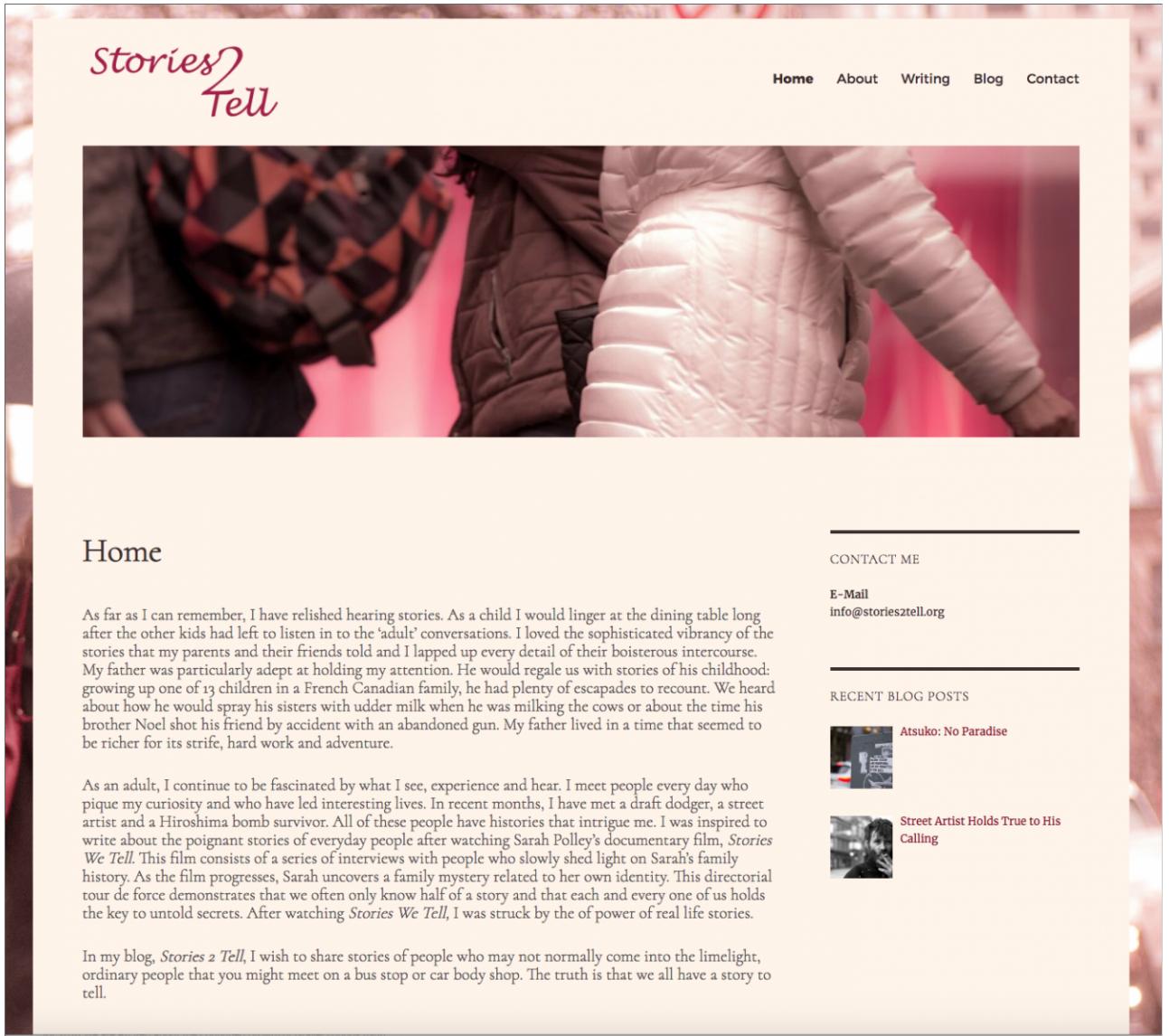 Stories2tellpage